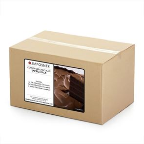 COUVERTURE CHOCOLATE SAMPLE PACK - 300g Tubs