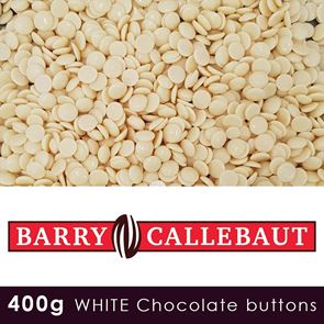 Callebaut Finest Belgian White Chocolate - 400g Pouch