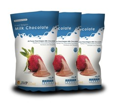 3 x Finest Belgian Milk Chocolate Bags - 900g Value Pack