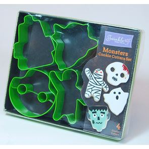 Monsters Cookie Cutter Set