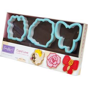 Cupid Love Cookie Cutter Set