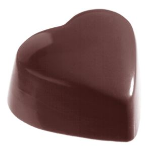 Chocolate Mould - High Flat Heart