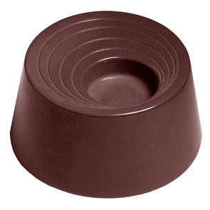 Chocolate Mould - Cylinder With Gravure