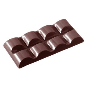 Chocolate Mould - Rounded Tablet - 2x4 38g