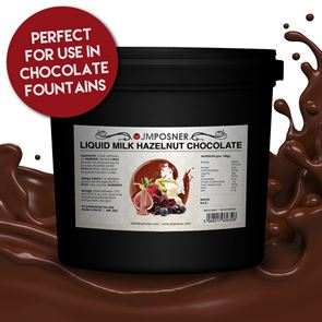 Liquid Milk Hazelnut Chocolate - 6kg