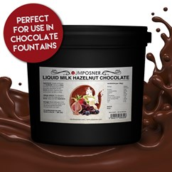 6kg Liquid Milk Hazelnut Chocolate