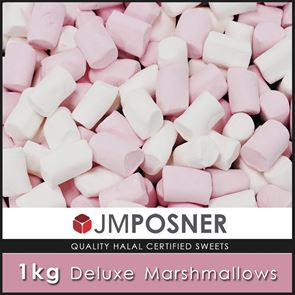Deluxe Marshmallows - 1kg Bag