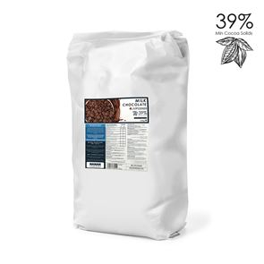 Luxury Belgian Milk Chocolate - 2.5 kg Bag
