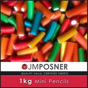 Mini Pencil Sweets - 1kg Bag