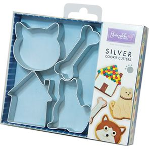 Cats & Dogs Cookie Cutter Set