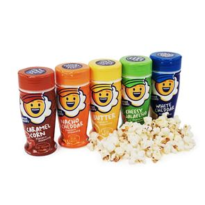 5 Pack of Kernel Seasons Popcorn Seasoning - Butter, Caramel and 3 Cheese Flavours