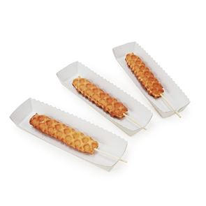 Stick Waffle Serving Trays - case of 1000