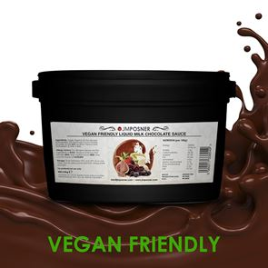 Liquid Vegan Milk Chocolate 3.5 kg